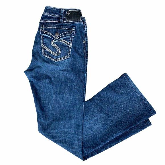 Silver Natsuki Flap Jeans Women's 32x31 Mid Rise